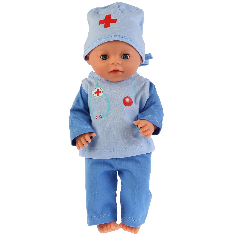 Аксессуар для кукол Карапуз OTF-1901DOC-RU куклы и одежда для кукол карапуз одежда для кукол теплый комбинезон hello kitty
