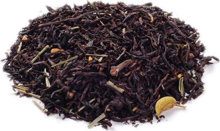 Чай листовой Gutenberg Восточный, черный с имбирем, 500 г булка коломенское булочки сдобные с кардамоном 200 г