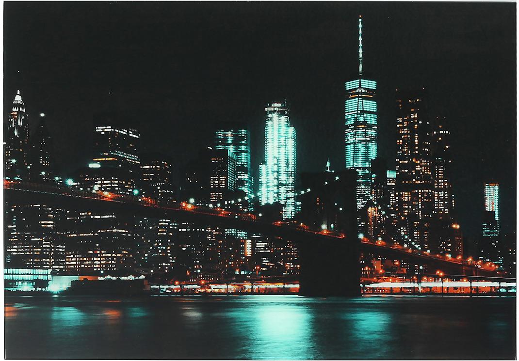 Картина Ночные огни, 3693537, 41 х 29 см
