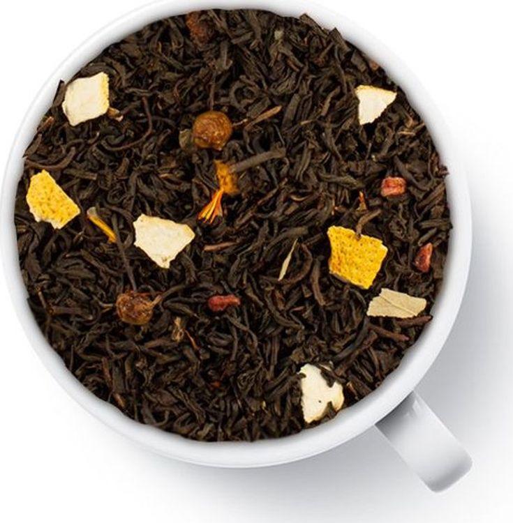 Чай листовой Gutenberg Облепиха с апельсином, черный ароматизированный, 500 г lancaster чай с облепихой черный листовой 75 г