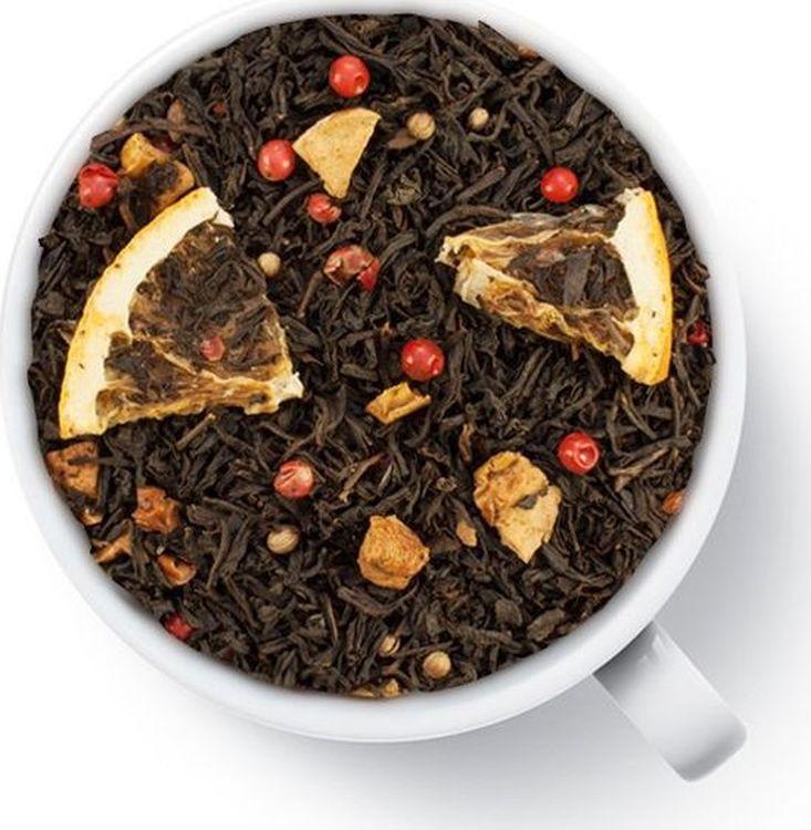 Чай листовой Gutenberg Со вкусом апельсинового печенья, черный ароматизированный, 500 г