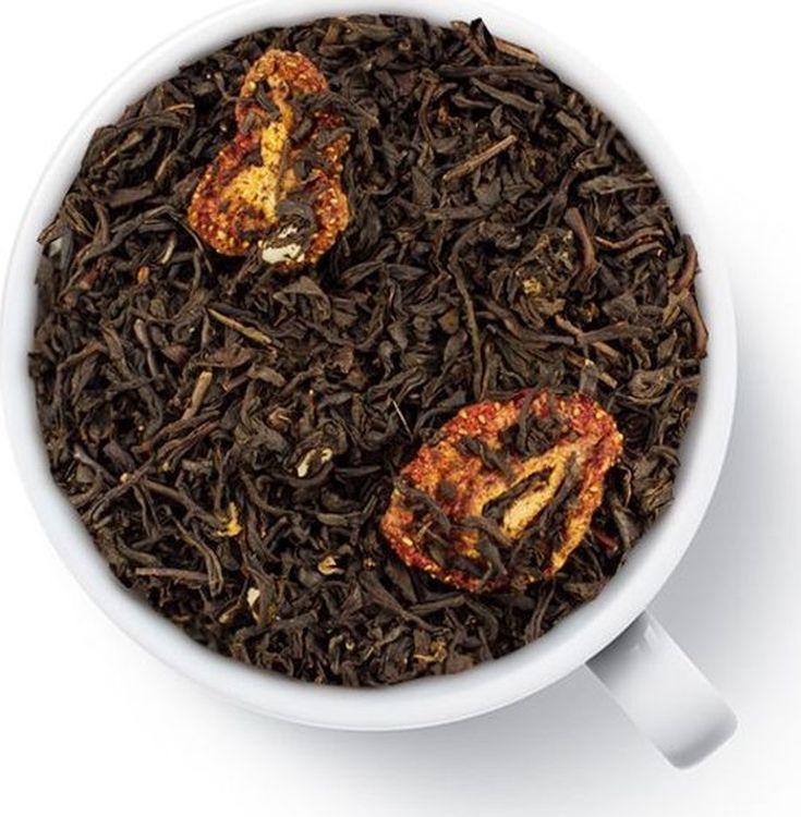 цены на Чай листовой Gutenberg Со вкусом клубничного зефира, черный ароматизированный, 500 г  в интернет-магазинах