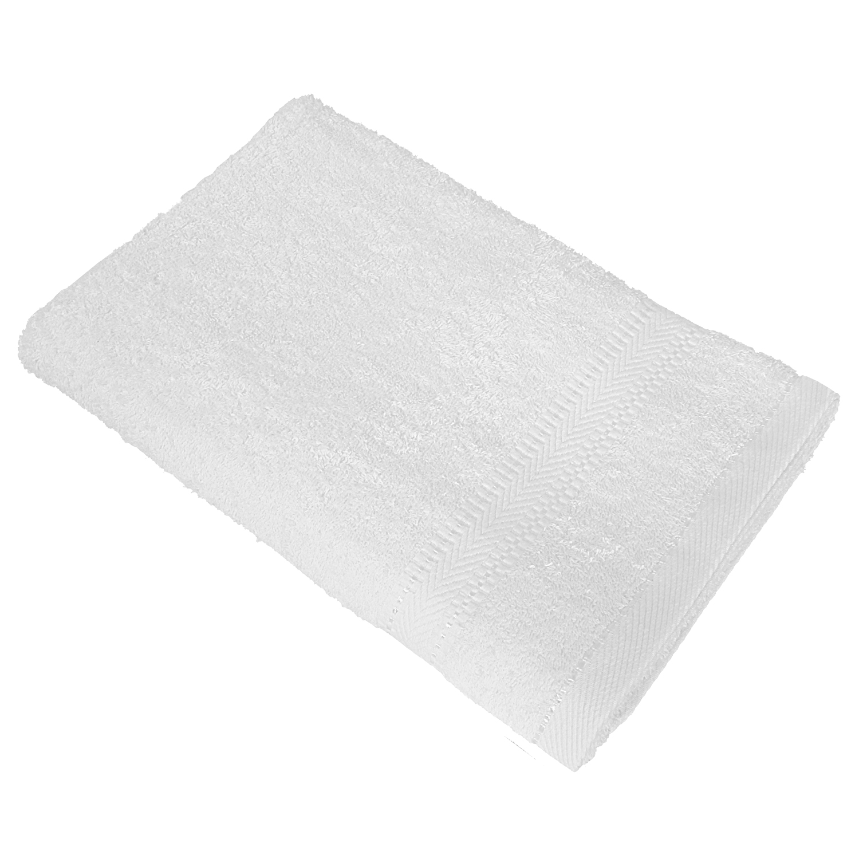 Полотенце банное WELLNESS УАЙТ, белый полотенца william roberts полотенце банное aberdeen цвет queen shadow серо голубой 70х140 см