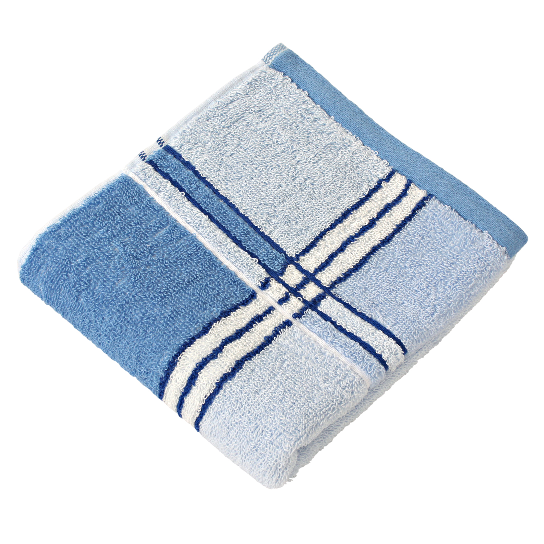 Полотенце банное WELLNESS СЛИМ, голубой полотенца william roberts полотенце банное aberdeen цвет queen shadow серо голубой 70х140 см