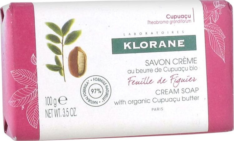 Мыло косметическое Klorane Нежный Инжир, 100 г где купить шампунь klorane