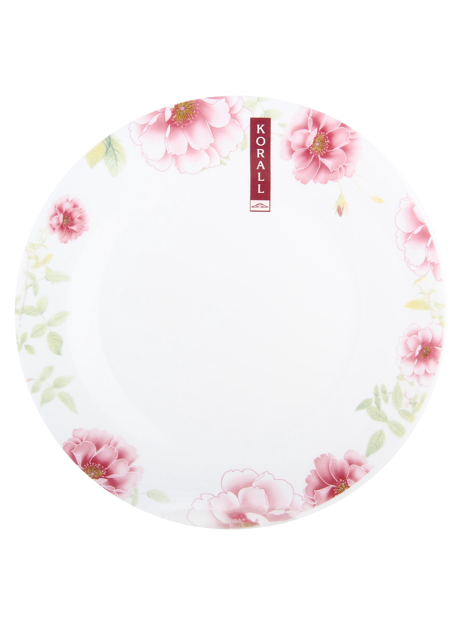 Тарелка мелкая Коралл 957598, Стеклокерамика плоская тарелка 21 см porland плоская тарелка 21 см