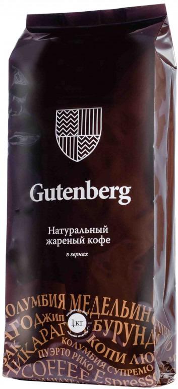 Кофе в зернах Gutenberg Рандеву, 1 кг1309Изобретение кофейного технолога Gutenberg - кофе с золотым зерном. На зерна высококачественной арабики нанесено золотое покрытие - так получается шикарный, эстетически красивый продукт. Вкусовые качества не подводят: глубокий аромат, бархатисто-шоколадный вкус с фруктовой кислинкой и сладкими нотами. Кофе с золотым зерном станет уникальным подарком кофеману и просто любителям прекрасного.