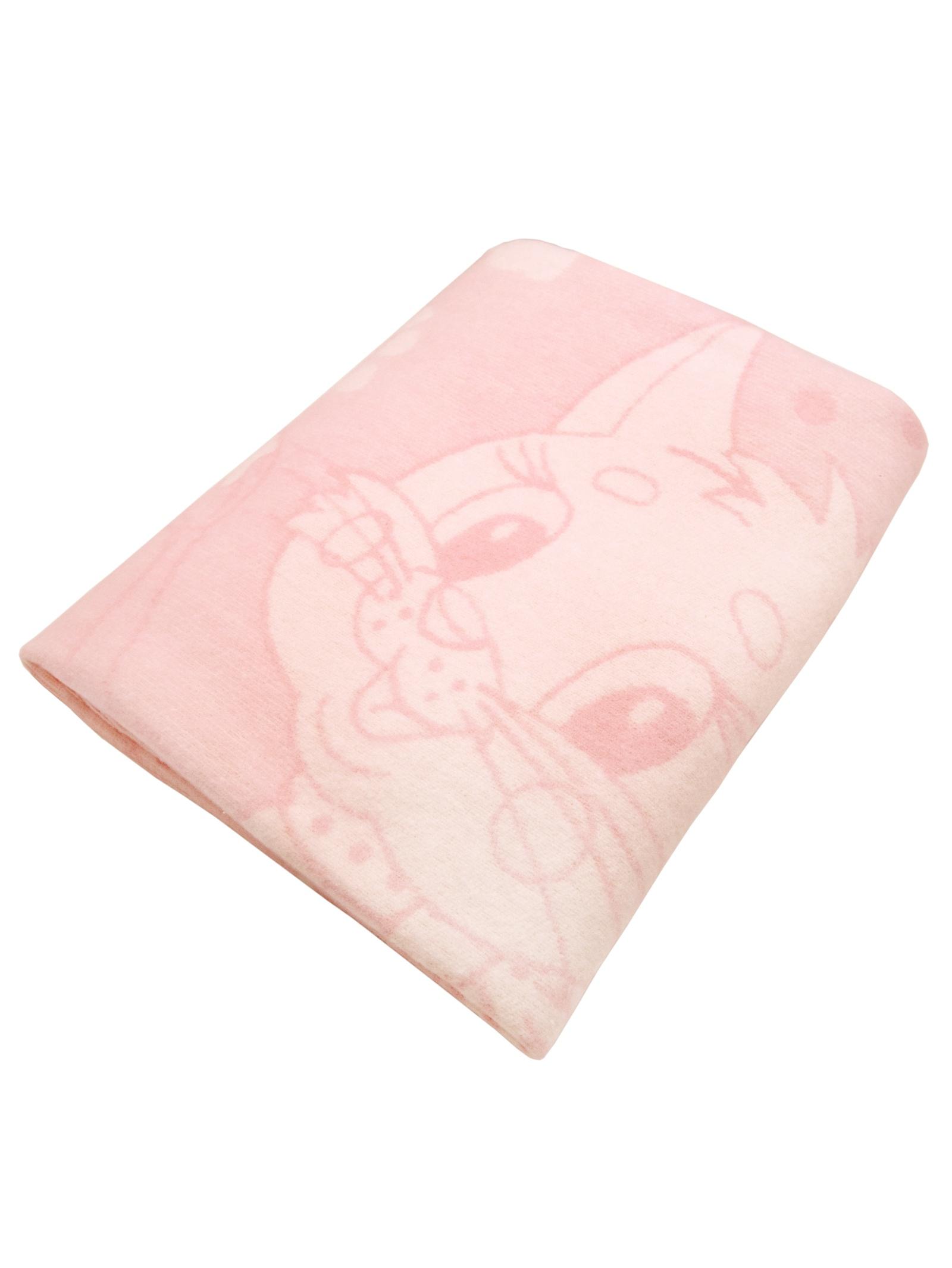 Одеяло детское Arloni с рисунком котёнка, розовый
