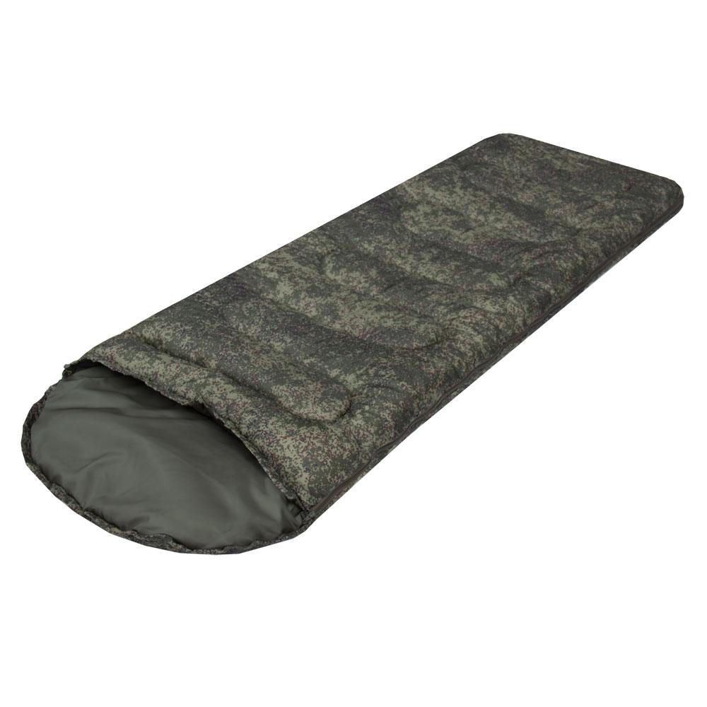Спальный мешок Prival Camp bag пиксель, молния справа, 220х70 см цена
