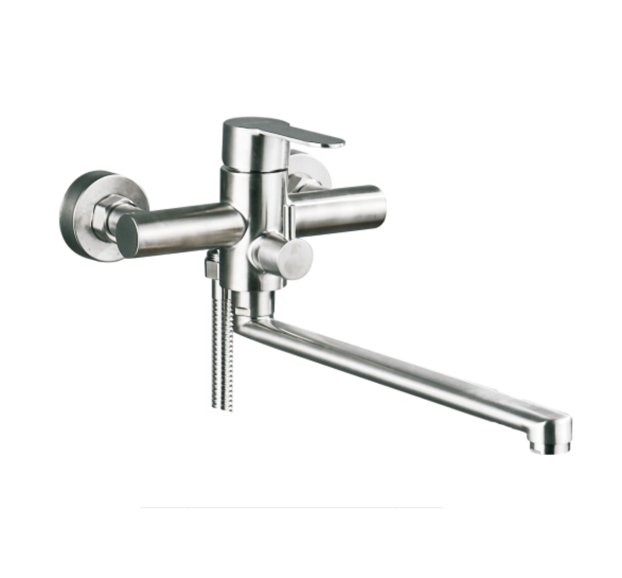 Смеситель для ванны ORTA VILS 50617-35F (SUS 304) монокомандный смеситель orta lippe 50621 монокомандный