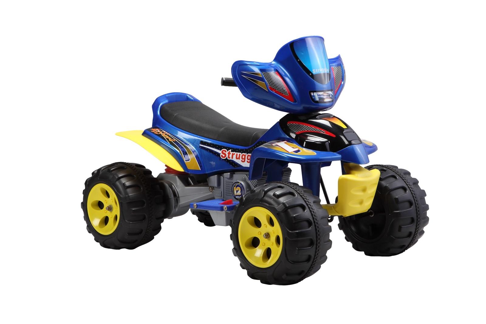 Электромотоцикл Farfello А22, синий kidscars электромобиль квадроцикл цвет черный