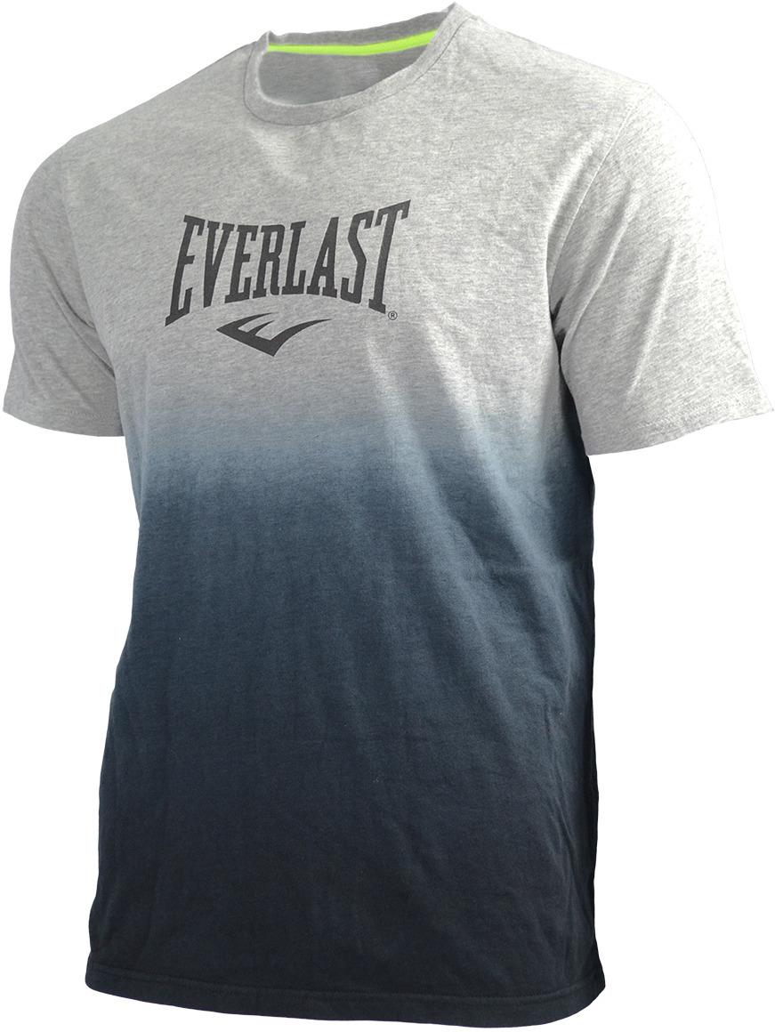 Футболка мужская Everlast Shade, цвет: серый, черный. EV75SAM671. Размер S (46/48)EV75SAM671