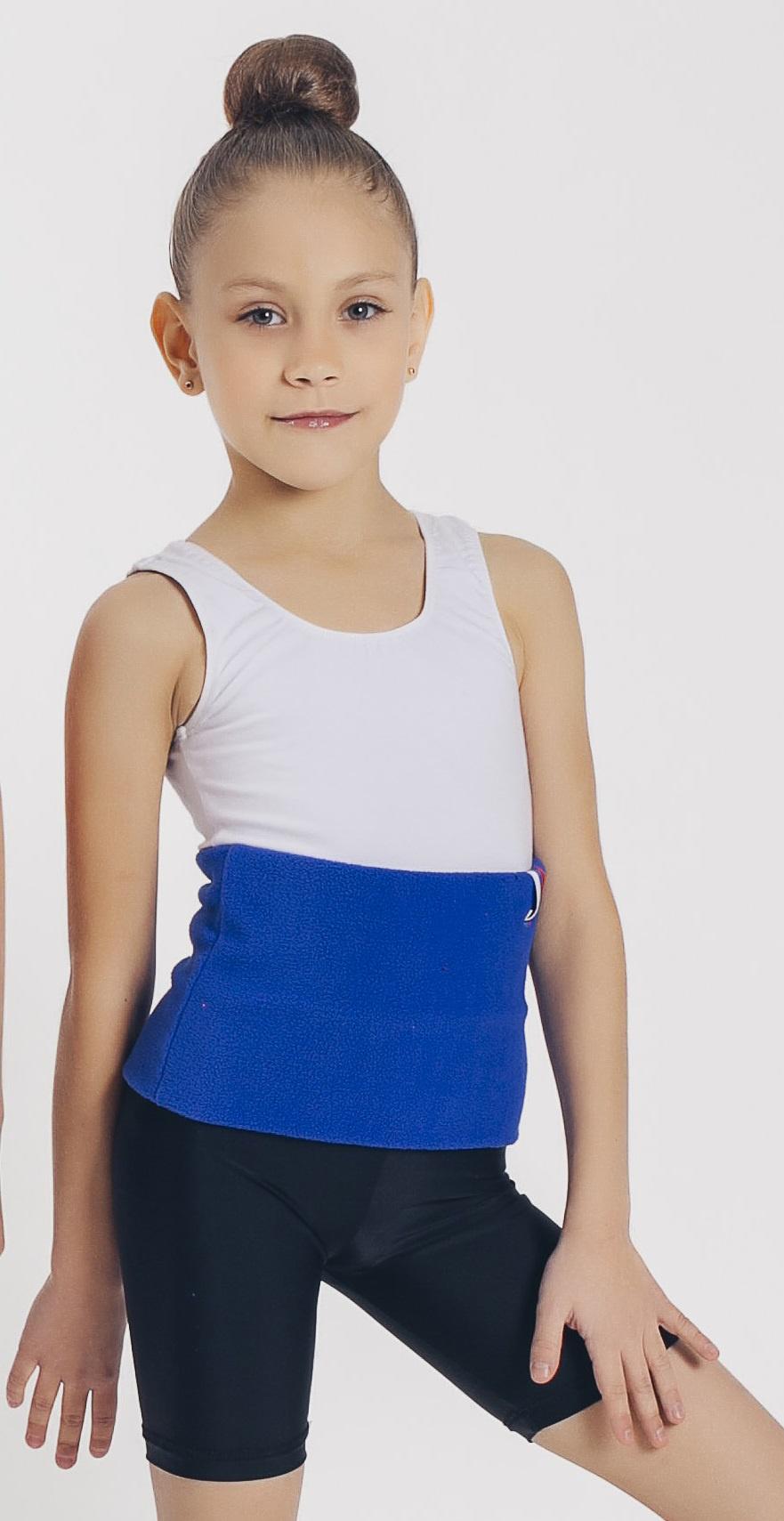 Пояс для похудения Линия Танца согревающий, синий для похудения пояс
