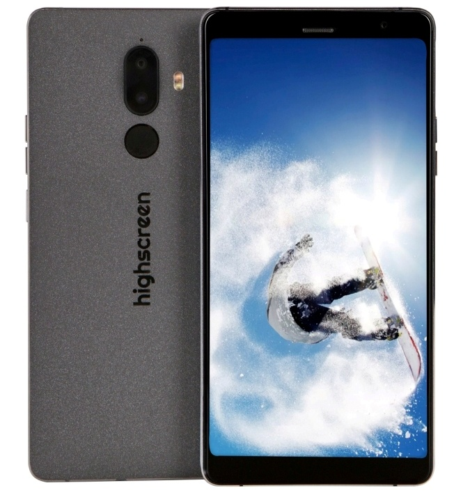 Смартфон Highscreen Power Five Max 2 3/32GB black highscreen power five pro white