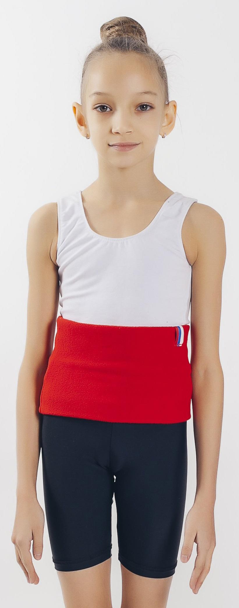 Пояс для похудения Линия Танца согревающий, красный для похудения пояс