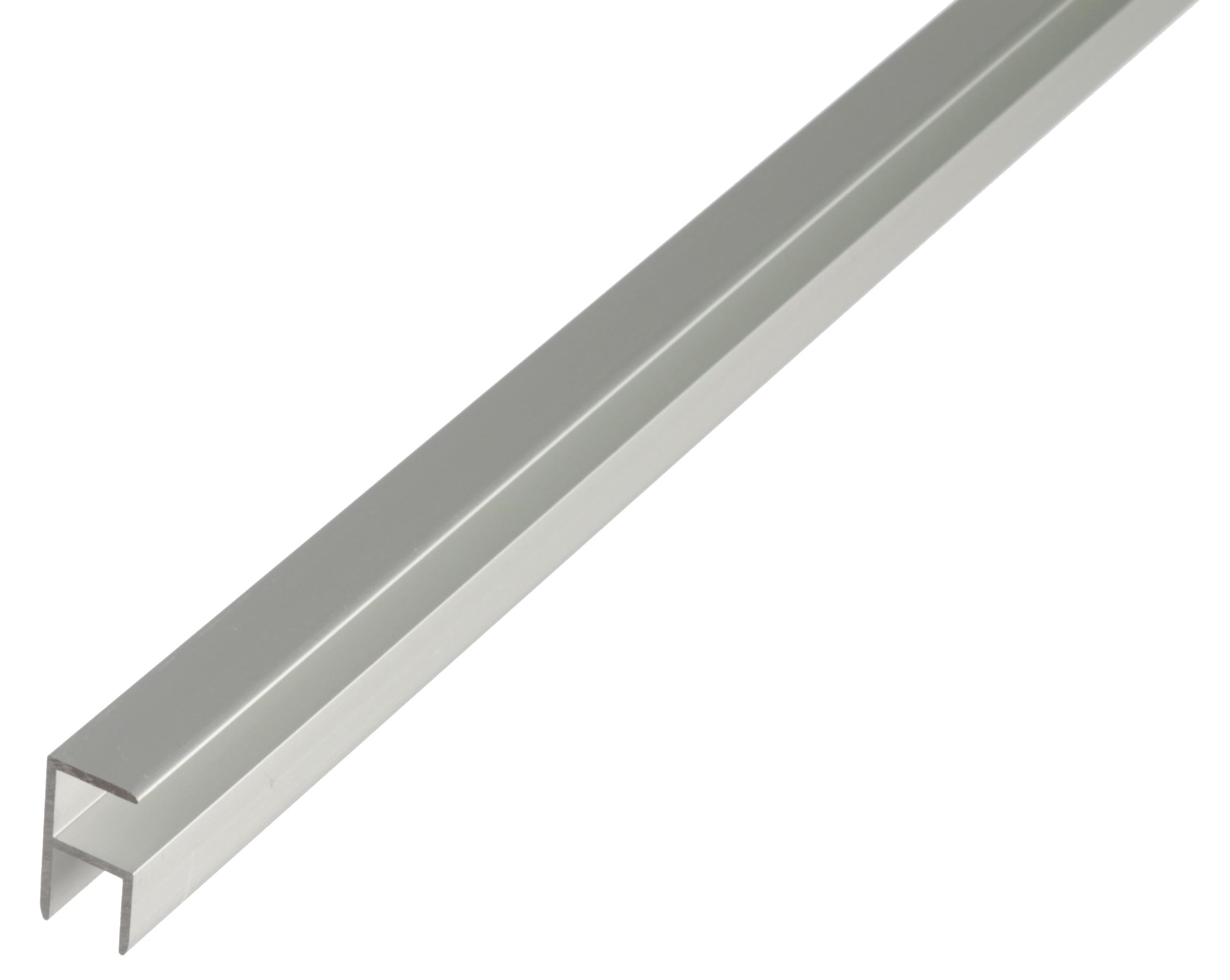 Профиль угловой, Gah Alberts, алюминиевый, серебристый, 10,9х20х1000мм