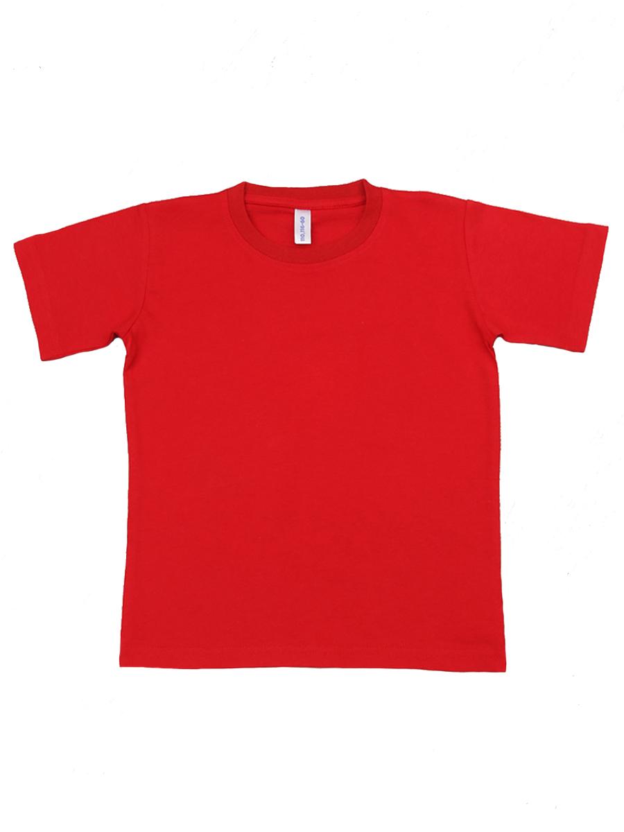 Футболка САМОЕ футболка для мальчика kogankids цвет красный 122 312 19 размер 128