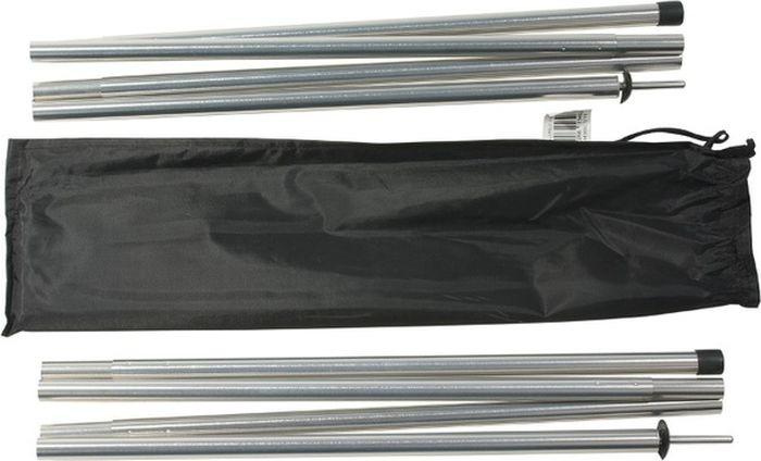 Стойки алюминиевые Alexika, серебристый, 1,6 х 170 см