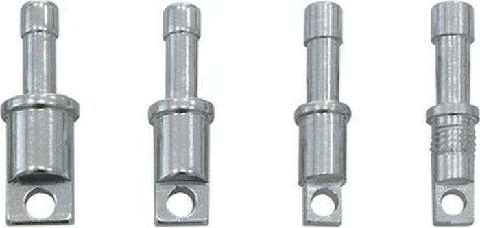 Наконечник для алюминиевых дуг Alexika, серебристый, 0,95 см