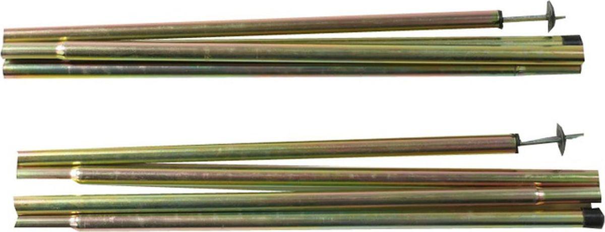 Стойки стальные Alexika, серебристый, , 1,6 х 170 см Alexika