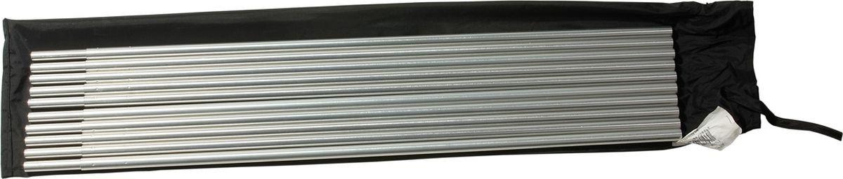 Набор алюминиевых сегментов Alexika, серебристый, 1,1 х 53 см, 10 шт
