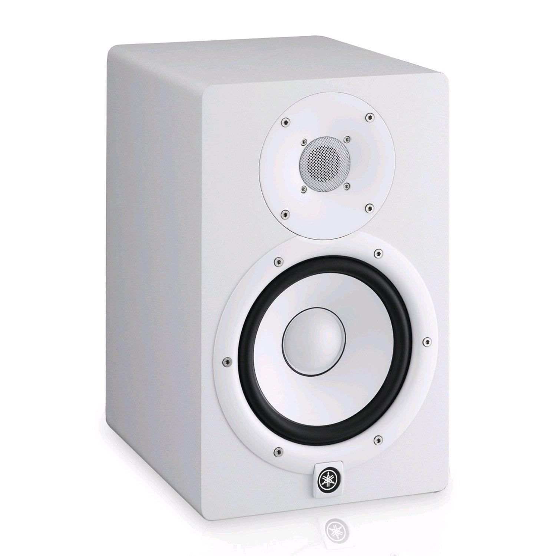Мониторная акустика Yamaha HS7W, белый цена 2017