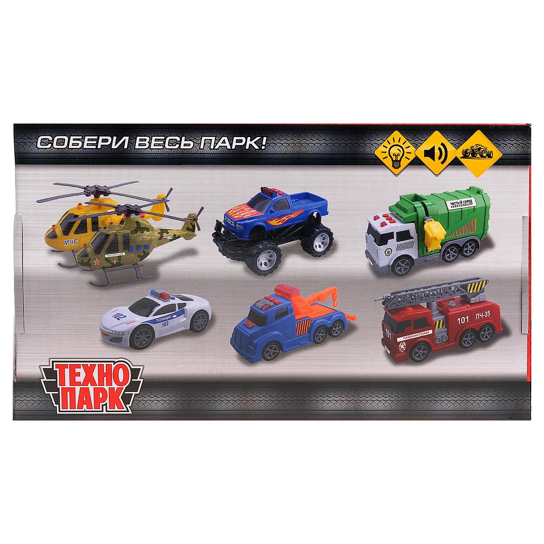 Машинка-игрушка Технопарк C405-R