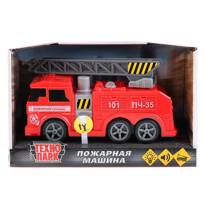 Машинка-игрушка Технопарк C403-R игрушка технопарк пожарная машина 251a1 r