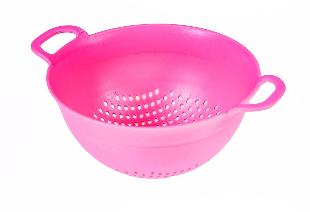 Дуршлаг Kukina Raffinata Kitchen, розовый