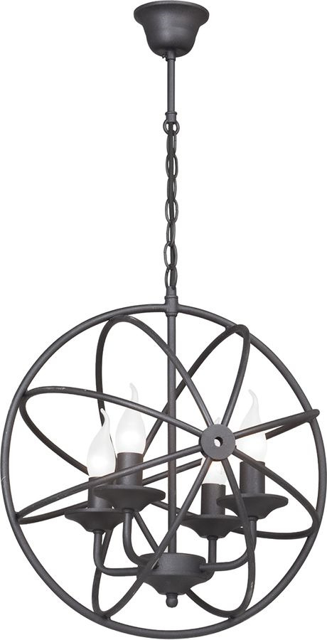 Подвесной светильник Vitaluce 4 х Е14, 60 Вт, E14, 60 Вт люстра vitaluce 6 x е14 60 вт v3400 6