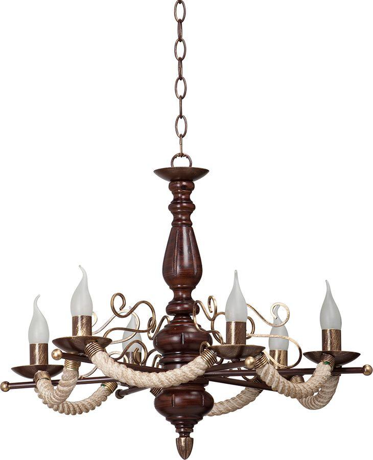 Подвесной светильник Vitaluce 6 х Е14, 60 Вт, E14, 60 Вт люстра vitaluce 6 x е14 60 вт v3400 6