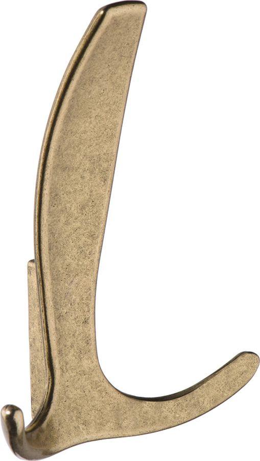 Фото - Крючок мебельный Kerron, KR 0220 OAB, оксидированная бронза, 80 х 50 х 110 мм крючок мебельный kerron kr 0101 ab бронза 70 х 73 х 20 мм