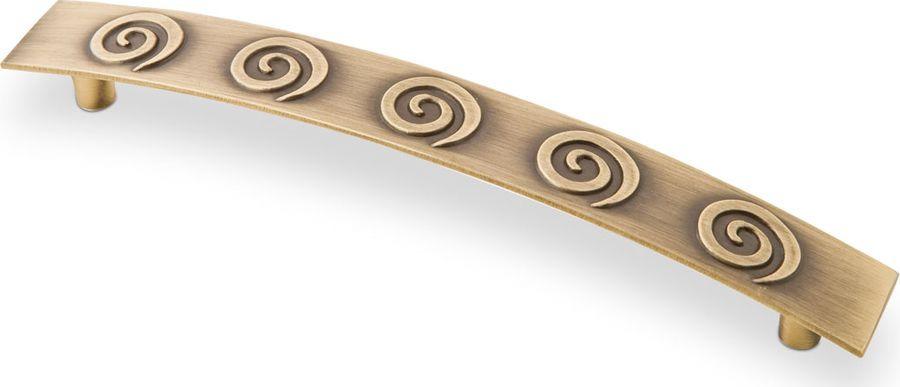 Ручка мебельная Kerron, RS-007-128 BA, античная бронза ручка скоба к8033 128мм античная бронза