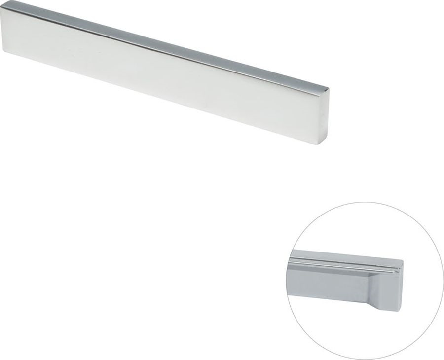 Ручка мебельная Kerron, R-3060-128 SC, матовый хром ручка wmn 707 128 00t5