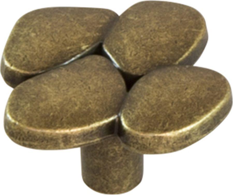 Ручка мебельная Kerron, RK-076 OAB, оксидированная бронза ручка кнопка мебельная