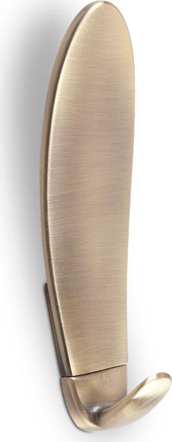 Фото - Крючок мебельный Kerron, KR 0170 BA, бронза, 43 х 40 х 140 мм крючок мебельный kerron kr 0101 ab бронза 70 х 73 х 20 мм
