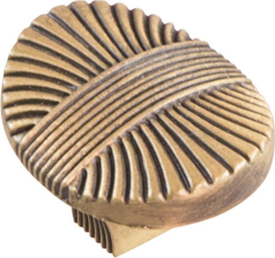 Ручка мебельная Kerron, RK-075 MAB, атласная бронза ручка кнопка мебельная