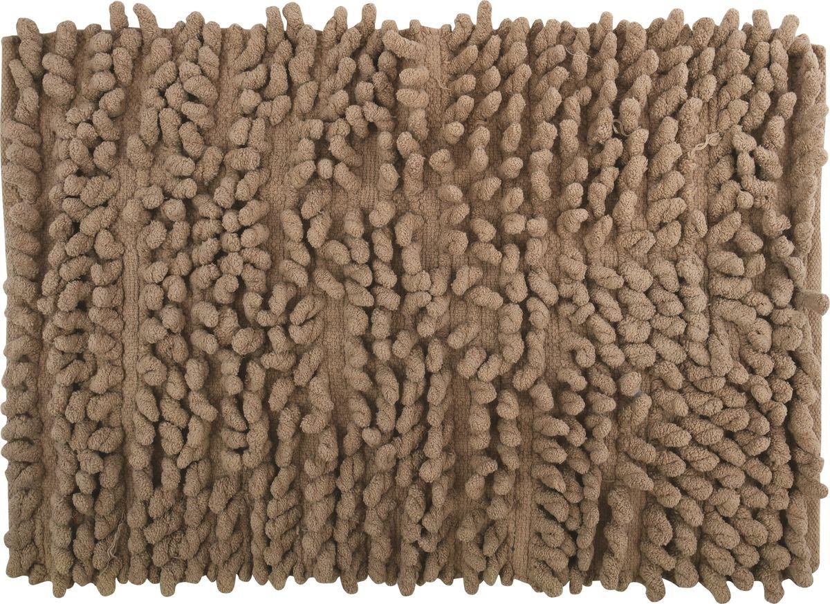 Коврик для ванной MSV Chenilles, 141369m, коричневый, 50 x 80 см потолочный светильник favourite 2455 1c