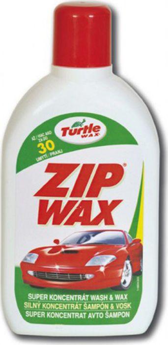 Автошампунь Turtle Wax Zip Wax, суперконцентрат с полирующим эффектом, FG6516/51366, 500 мл