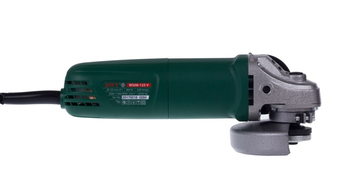 Шлифмашина угловая DWT 5.1.33 dwt ws24 180 t угловая шлифмашина green