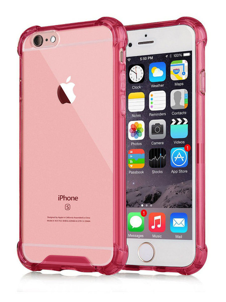 Чехол для сотового телефона UVOO Противоударный чехол Antishock для Apple iPhone 6 Plus / 6s Plus аккумулятор для телефона craftmann для apple iphone 6s plus с увеличенной ёмкостью до 2990 mah