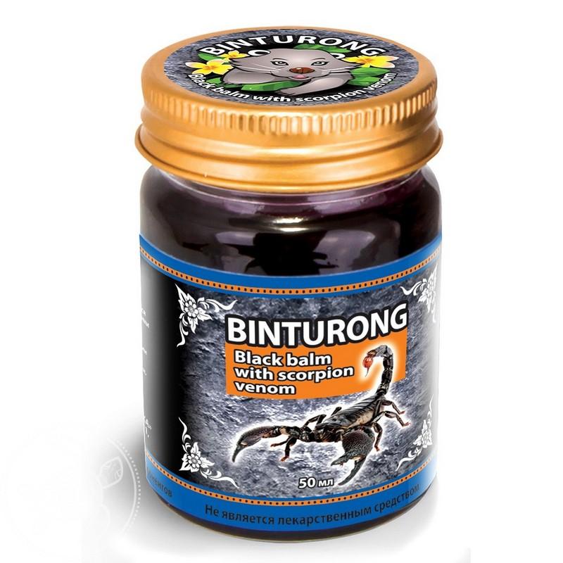 Бальзам для ухода за кожей Binturong с ядом скорпиона недорго, оригинальная цена