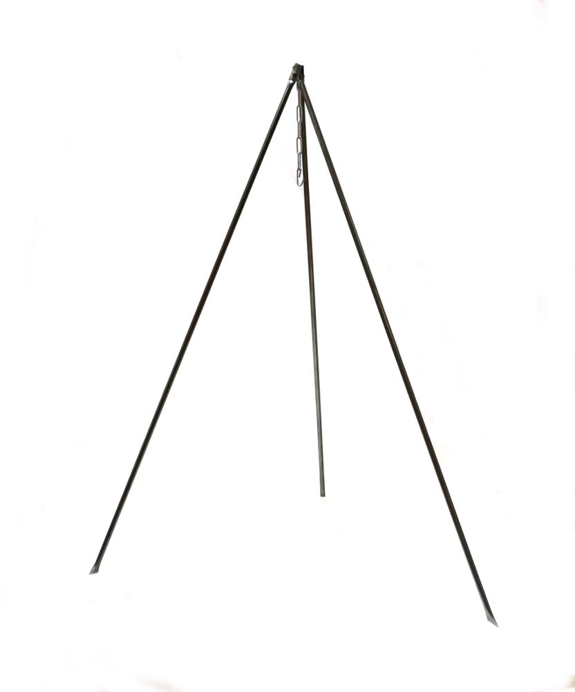 Принадлежность для пикника BG Тренога костровая в чехле 1м., серебристый тренога boyscout 61243 костровая 1м