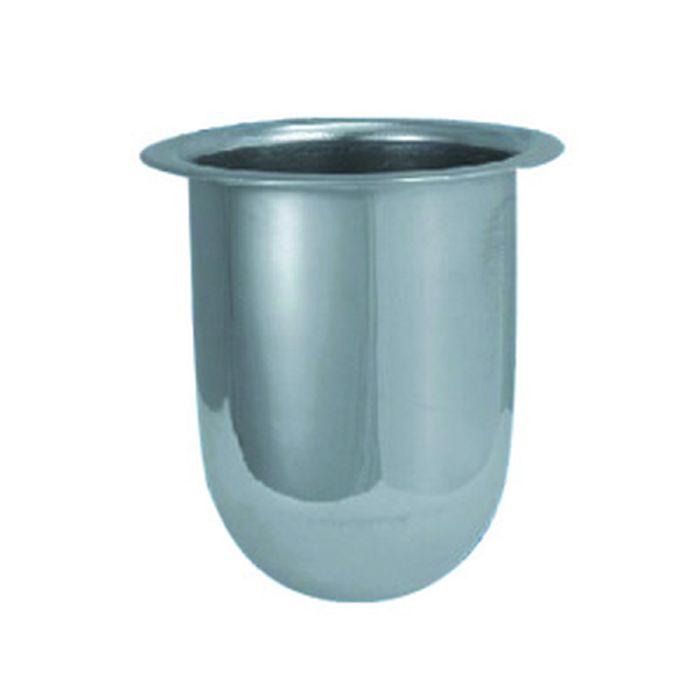 Колба металлическая для туалетного ерша BATH PLUS, Хром