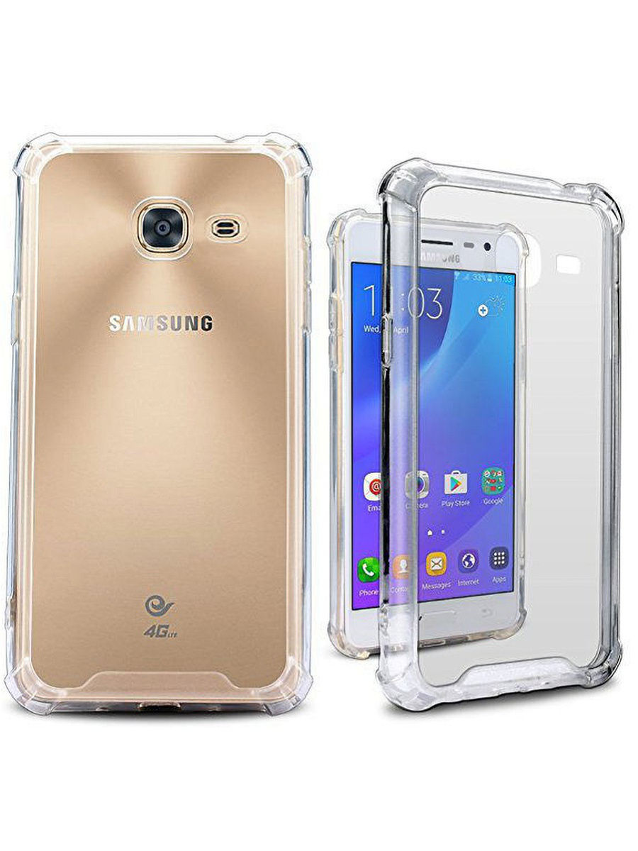 "Чехол для сотового телефона UVOO Противоударный чехол ""Antishock"" для Samsung Galaxy J1 Mini (J105)"