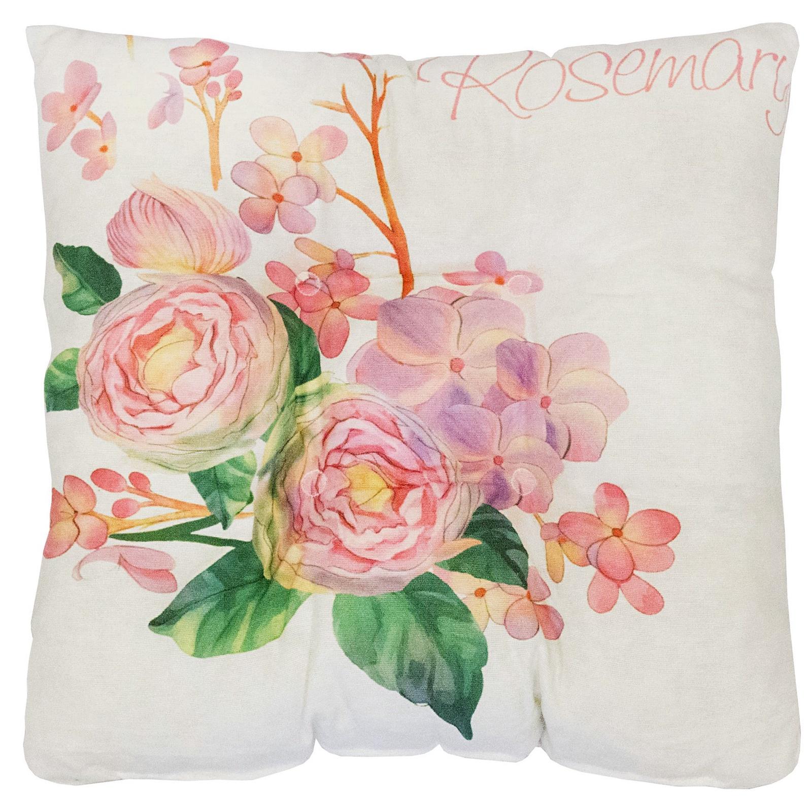 Подушка на стул Altali Римини, кремовый, розовый, зеленый подушки на стул altali подушка на стул с рисунком марселла лайн