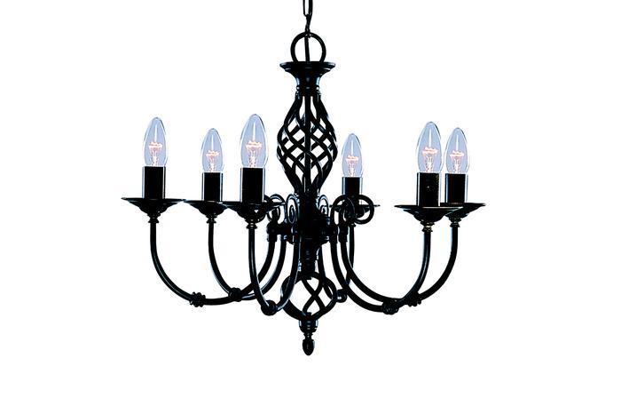 Подвесной светильник Arte Lamp A8392LM-6BK