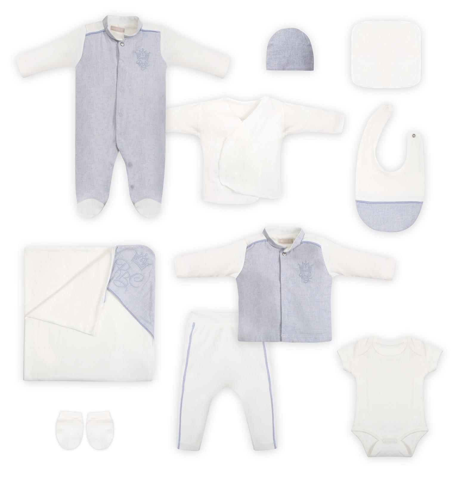 Комплект одежды RBC комплект одежды для мальчика котмаркот кофточка штанишки цвет голубой 2817 размер 80