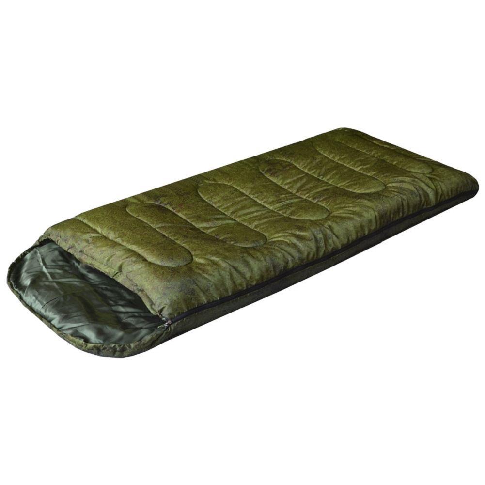 Спальный мешок Prival Camp bag плюс КМФ пиксель, молния справа, 220х95 см цена