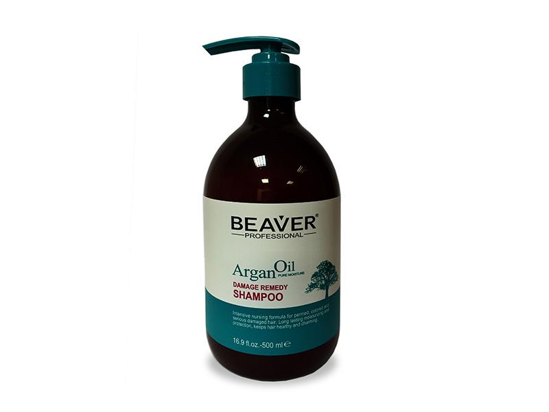 Шампунь для волос Beaver для сильно поврежденных волос на основе арганового масла rich шампунь для окрашенных волос на основе арганового масла шампунь для окрашенных волос на основе арганового масла